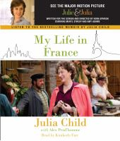 Cover image for My life in France