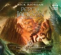 Cover image for The sea of monsters Percy Jackson and the Olympians Series, Book 2.