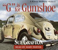 """Cover image for """"G"""" is for gumshoe"""