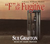 """Cover image for """"F"""" is for fugitive"""