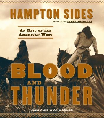 Cover image for Blood and thunder an epic of the American West