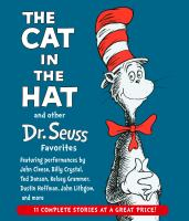 Cover image for The cat in the hat and other Dr. Seuss favorites