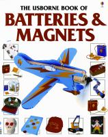 Cover image for The Usborne book of batteries & magnets