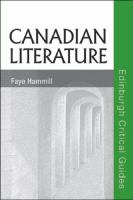 Cover image for Canadian literature