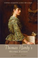 Cover image for Thomas Hardy's shorter fiction a critical study