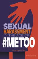 Cover image for Sexual harassment in the age of #metoo : crossing the line