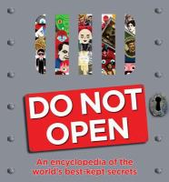 Cover image for Do not open