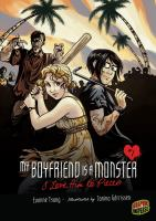 Cover image for My boyfriend is a monster.