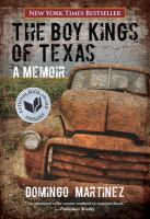 Cover image for The boy kings of Texas : a memoir