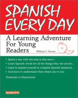 Cover image for Spanish every day : a learning adventure for young readers