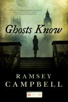 Cover image for Ghosts know