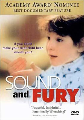Cover image for Sound and fury