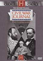 Cover image for Civil War journal the commanders