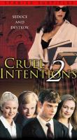 Cover image for Cruel intentions 2