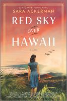 Cover image for Red sky over Hawaii
