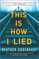 Cover image for This is how I lied
