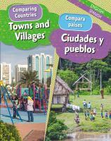 Cover image for Towns and villages = Ciudades y pueblos