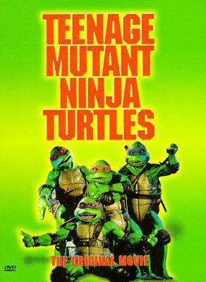 Cover image for Teenage mutant ninja turtles The original movie