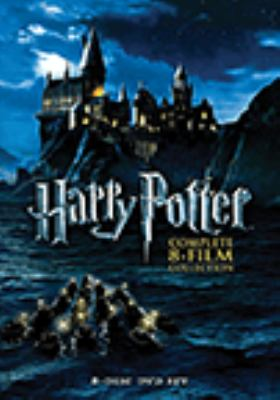 Cover image for Harry Potter complete 8-film collection.