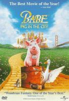Cover image for Babe : pig in the city