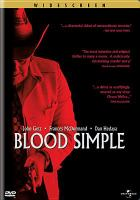 Cover image for Blood simple