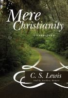 Cover image for Mere Christianity