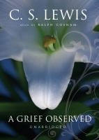 Cover image for A grief observed