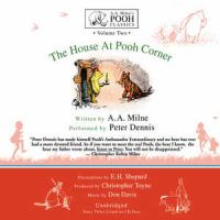 Cover image for A.A. Milne's the house at Pooh Corner