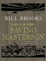 Cover image for Law for hire Saving Masterson