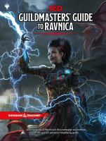 Cover image for Guildmasters' guide to Ravnica.