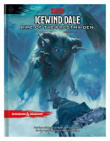 Cover image for Icewind Dale : rime of the frostmaiden