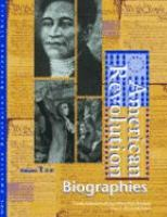 Cover image for American Revolution : biographies