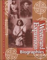 Cover image for Westward expansion : biographies