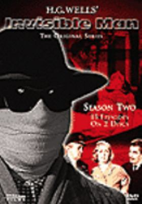 Cover image for H.G. Wells' Invisible man, the original series. Season two