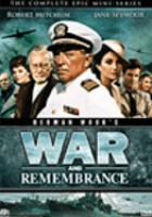 Cover image for War and remembrance. The complete epic mini-series