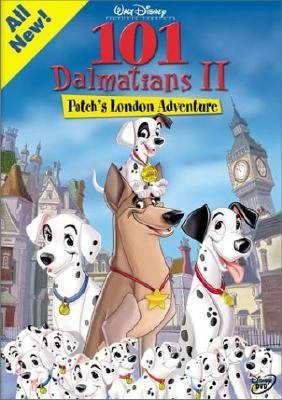 Cover image for 101 dalmatians II Patch's London adventure