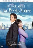Cover image for Two weeks notice