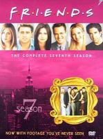 Cover image for Friends The complete seventh season