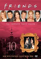 Cover image for Friends The complete tenth season