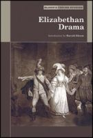 Cover image for Elizabethan drama