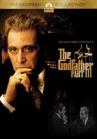 Cover image for The Godfather. Part III