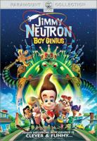 Cover image for Jimmy Neutron, boy genius