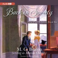 Cover image for Back in society