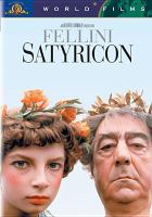 Cover image for Fellini Satyricon
