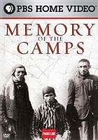 Cover image for Memory of the camps