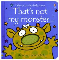 Cover image for That's not my monster