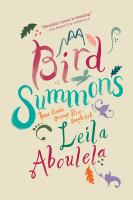 Cover image for Bird summons