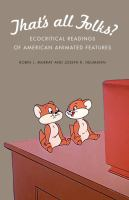 Cover image for That's all folks? ecocritical readings of American animated features