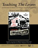 Cover image for Teaching the levees a curriculum for democratic dialogue and civil engagement