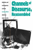 Cover image for Channels of discourse, reassembled television and contemporary criticism